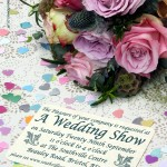 Poster for wedding show in Bristol